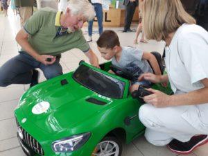 Une voiture électrique à l'hôpital
